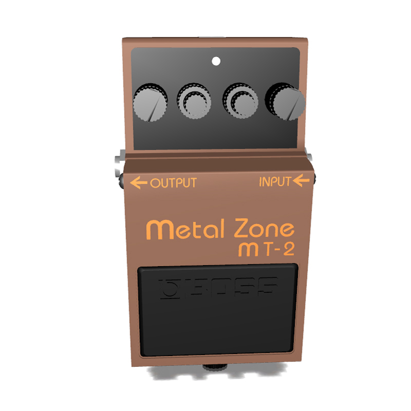 BOSS MT-2 Pedal | Miscellaneous | 3D model | eonexperience