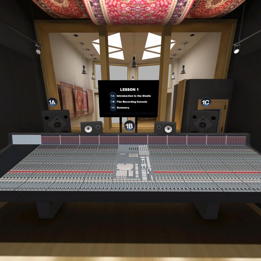 URAM Recording Engineer 101 | Miscellaneous | 3D Lesson | eonexperience