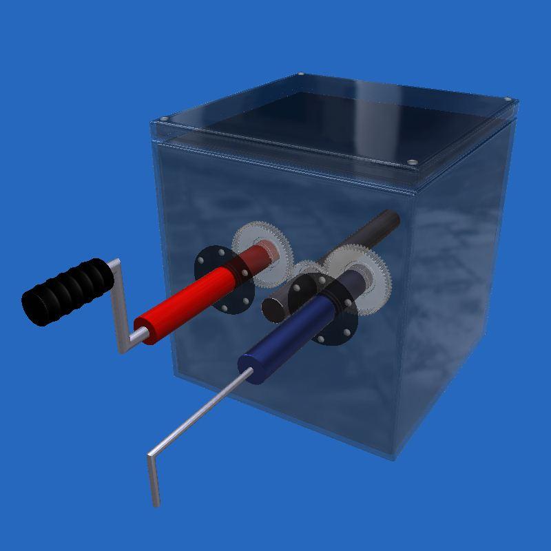 Mechanisms Box | Engineering | 3D Lesson | eonexperience