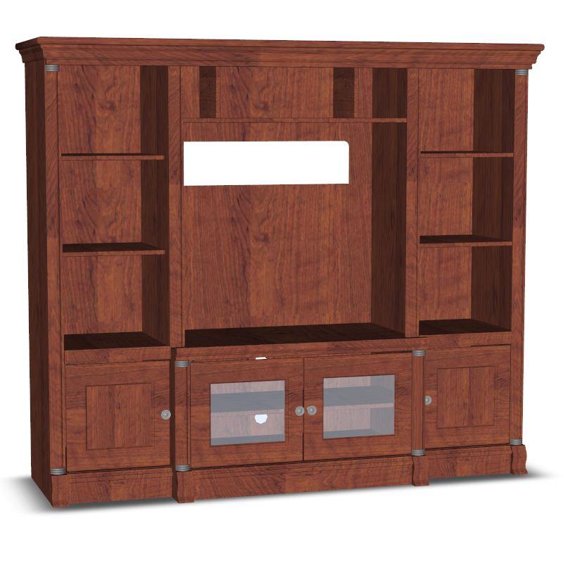 Living Room Unit Drawer Cabinets Furnishings 3d