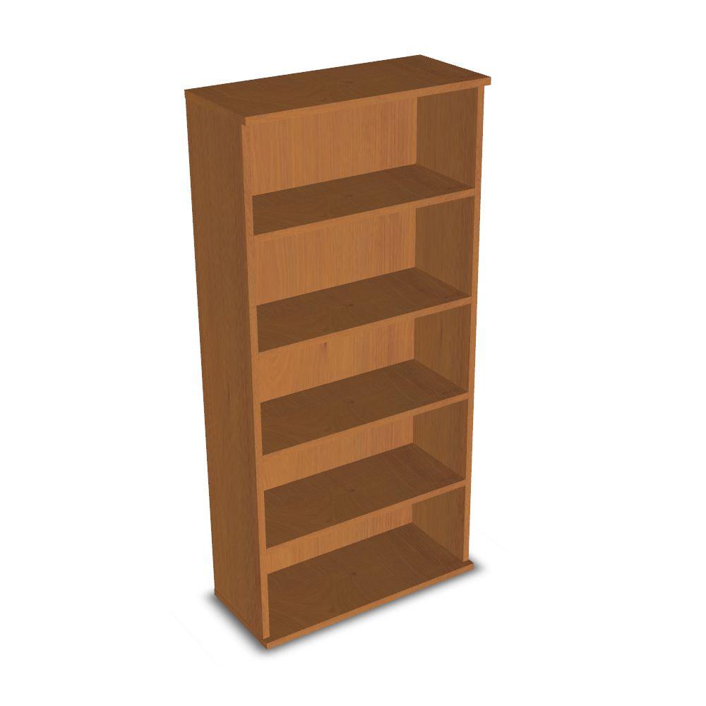 Wood Cabinet Shelves Furnishings 3d Model