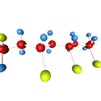 Pvc Molecule Molecules Science 3d Model Eonexperience